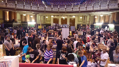 Photos from Today's Super Retro Gaming Fair in Leeds Town Hall