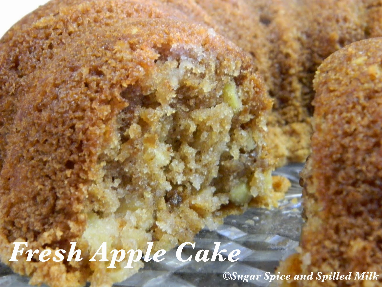 Cake Mix Fresh Apple Cake Recipe