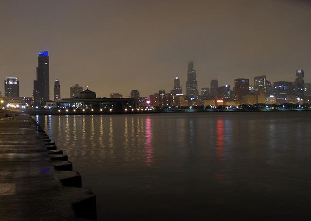 Views of the City at Lake Michigan