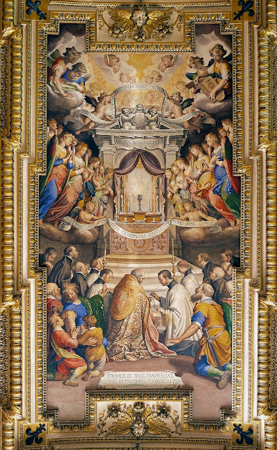 corpus christi essays on the church and the eucharist The pope gave his homily for corpus christi at a mass in ostia,  for us here  below, because the eucharist is the beating heart of the church.