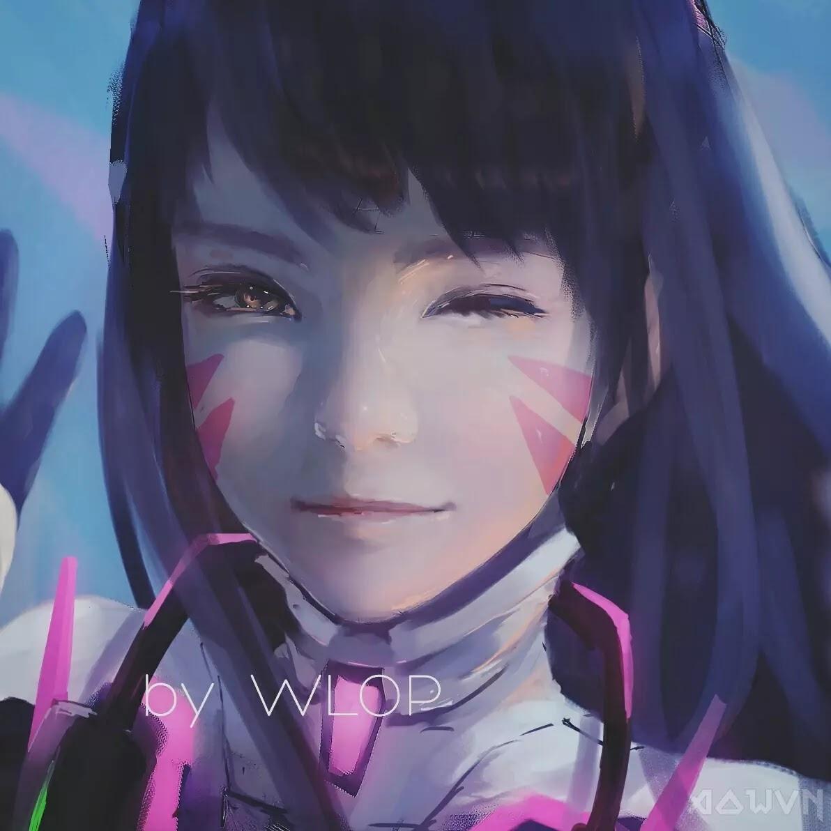 47 AowVN.org m - [ Hình Nền ] Anime Cực Đẹp by Wlop | Wallpaper Premium / Update
