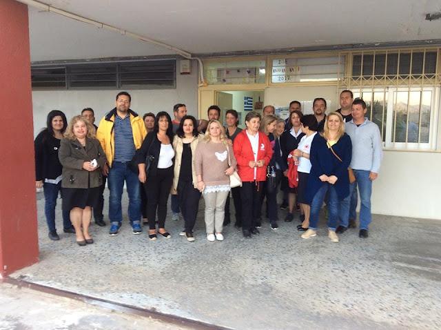 Βιωματικό σεμινάριο Πρώτων Βοηθειών στο Σχολείο Δεύτερης Ευκαιρίας Τρίπολης