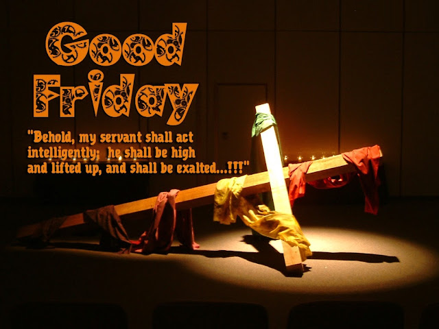 Good friday wallpaper with quotes in hd