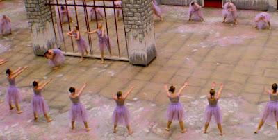 dance team, dance, osaa, clackamas cavalettes, cemetery, painting, murals