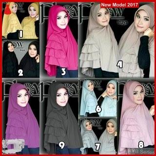 RYB026B Hijab Jilbab Cantik Khimar Murah Inaya BMG Online Shop