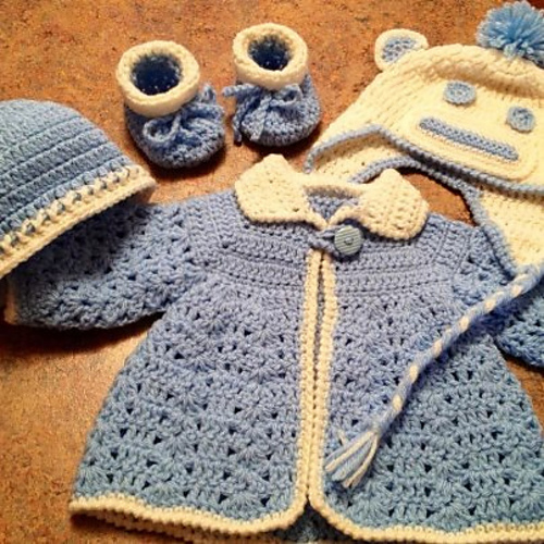 Adorable Crochet Baby Outfit - Free Pattern