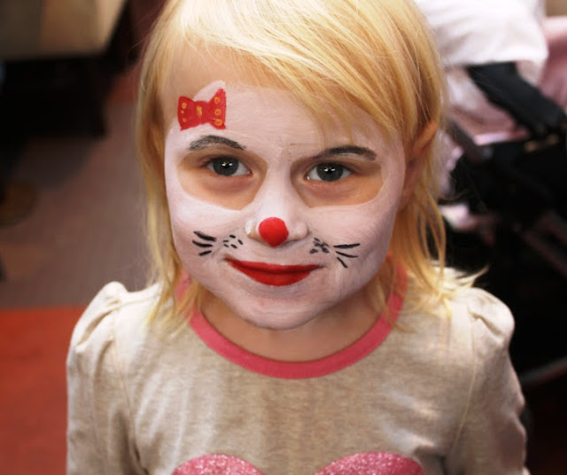 Simple Face Painting Designs For Girls