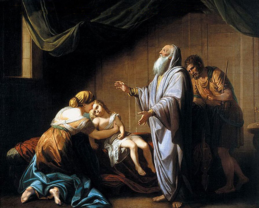 Elisha Raising The Son Of The Shunammite Woman