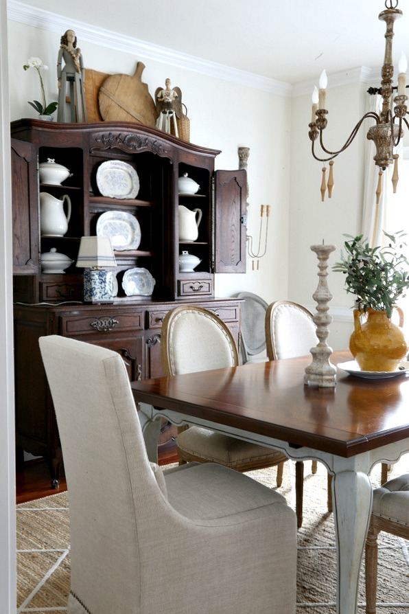 Savvy Southern Style : French Country Dining Room Updates