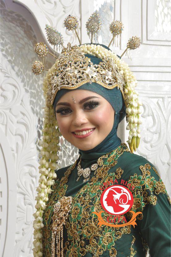 Tata Rias Pengantin Sunda Siger Muslimah