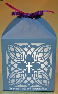 cross lantern or candy box
