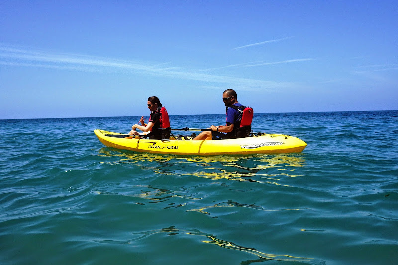 Kayaking Catalina Island California