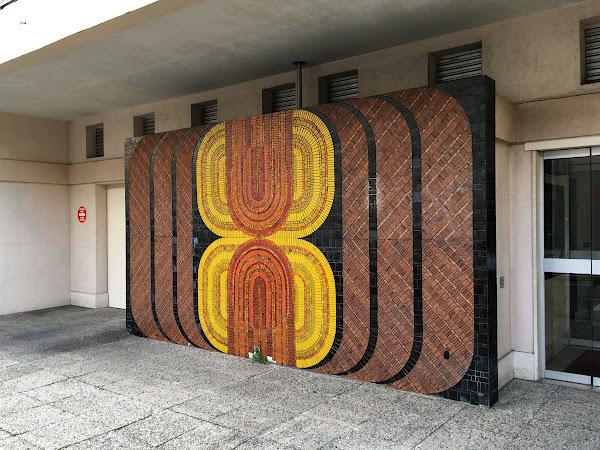 Nanterre - Mosaique, résidence rue Silvy  Création - L'Oeuf Centre d'Etudes
