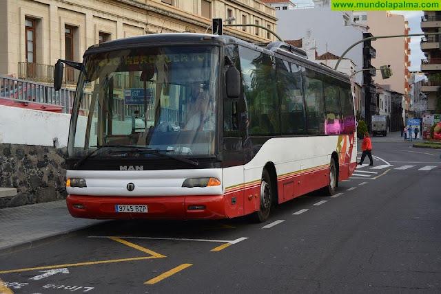 El Cabildo mantiene las actuales líneas de servicio público de transporte en guagua en el municipio de Garafía