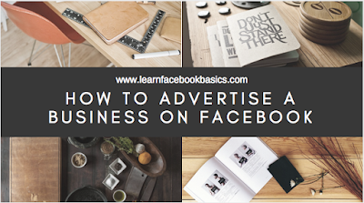 How to advertise a business on Facebook