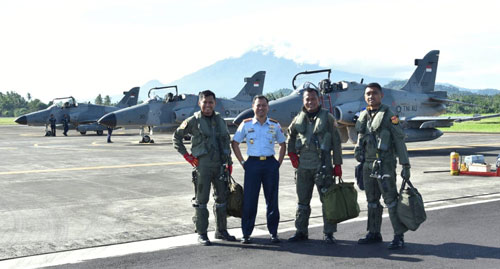 Sumber Kepala Penerangan Pangkalan TNI AU Supadio