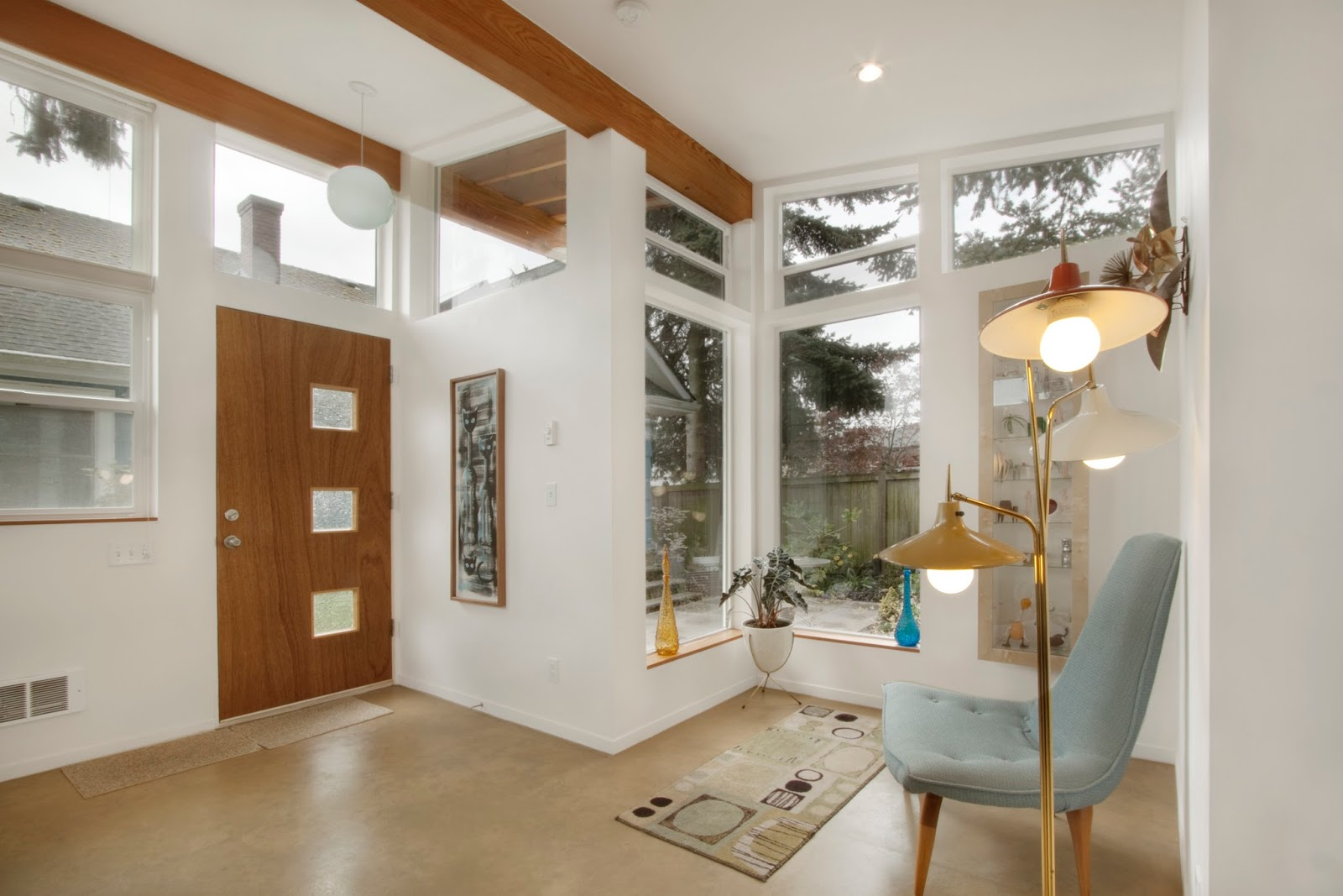Mid Century Modern Foyer Light : Tiny house town the orchid studio