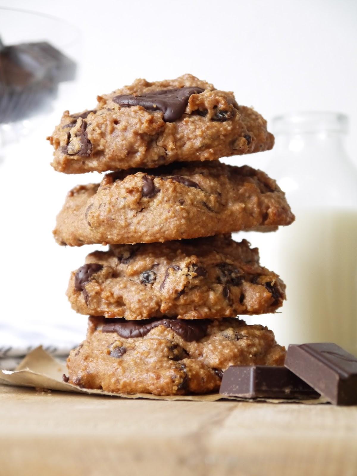 *ZERO BADDIES* Peanut Butter Chocolate Chunk Cookies