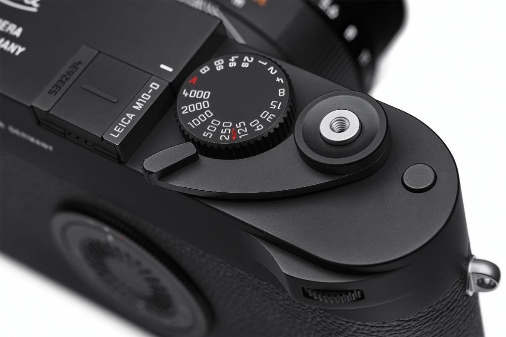 Leica M10-D, диск настройки выдержки