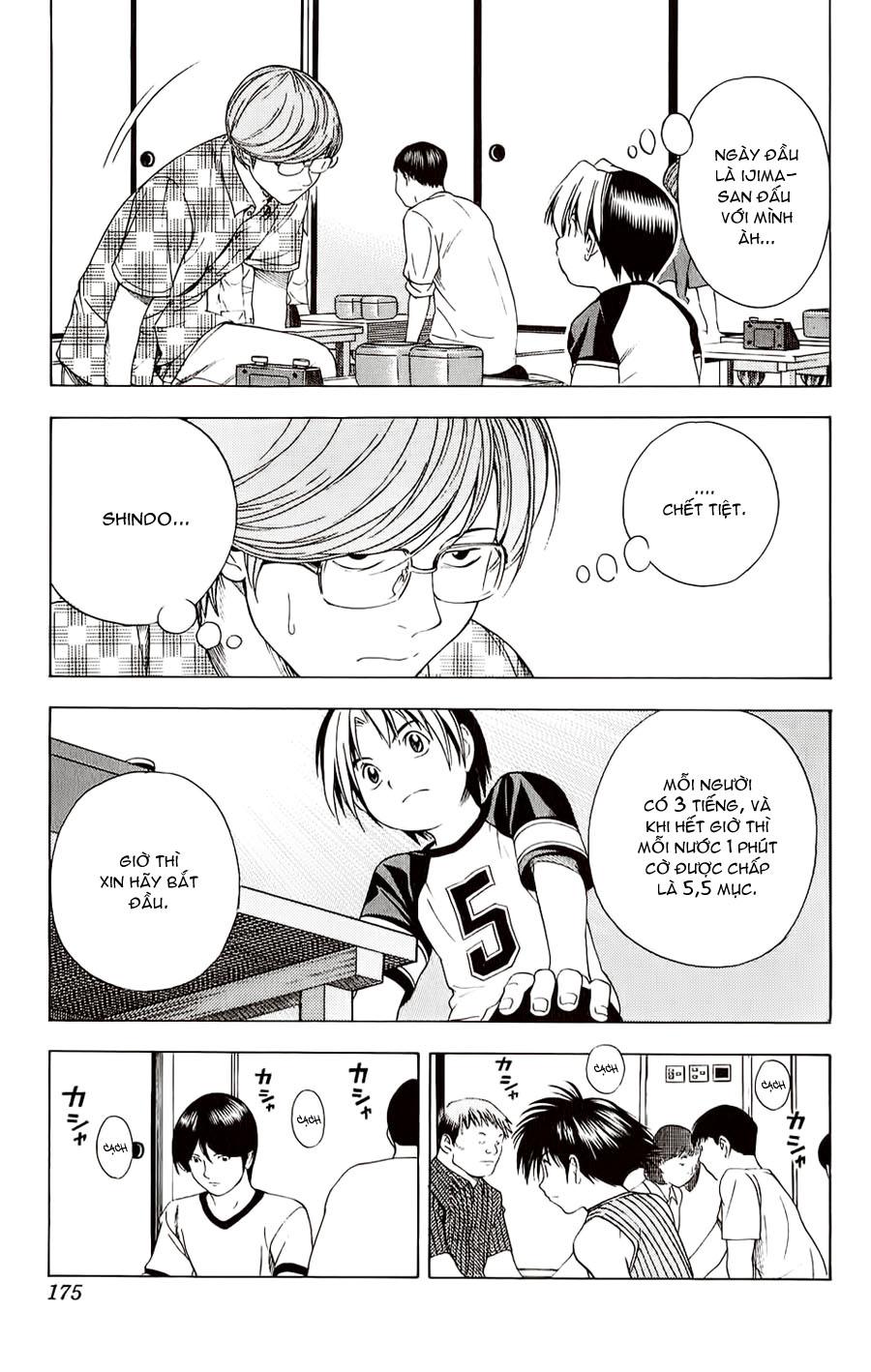 Hikaru No Go hikaru no go chap 77 trang 14