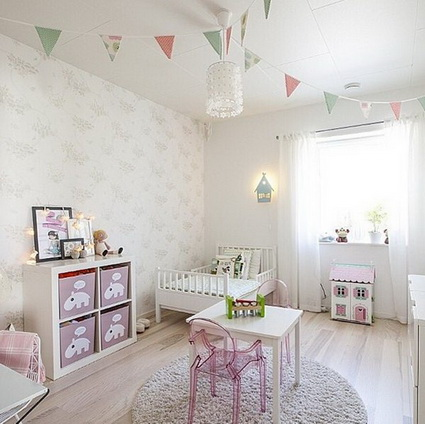 Unique Ideas for decorating little girls' bedrooms 1
