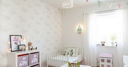 Unique Ideas for decorating little girls' bedrooms