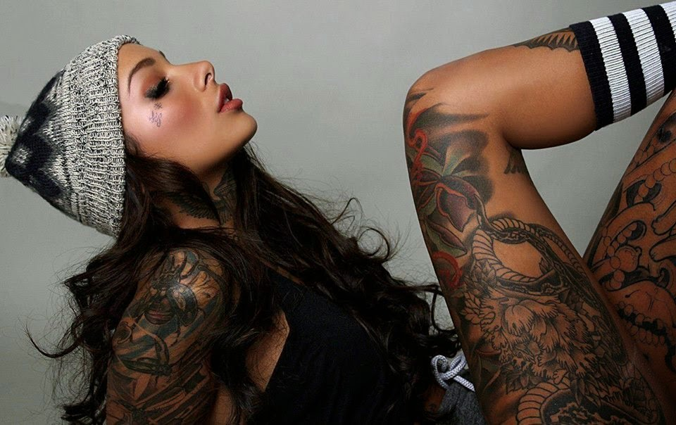 5 best tattoo collection woman