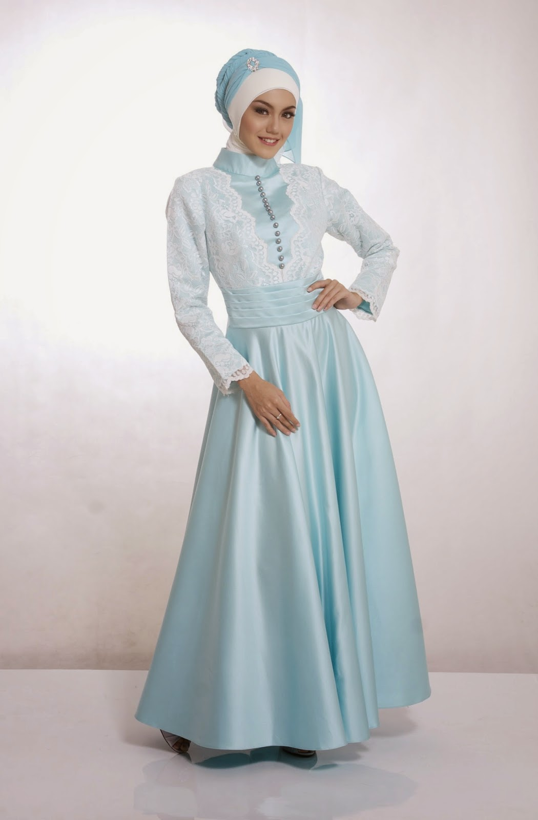 Model Baju Gamis Pesta 2