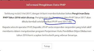 Aplikasi PMP versi 2.0 (rilis 05 Juni 2017)