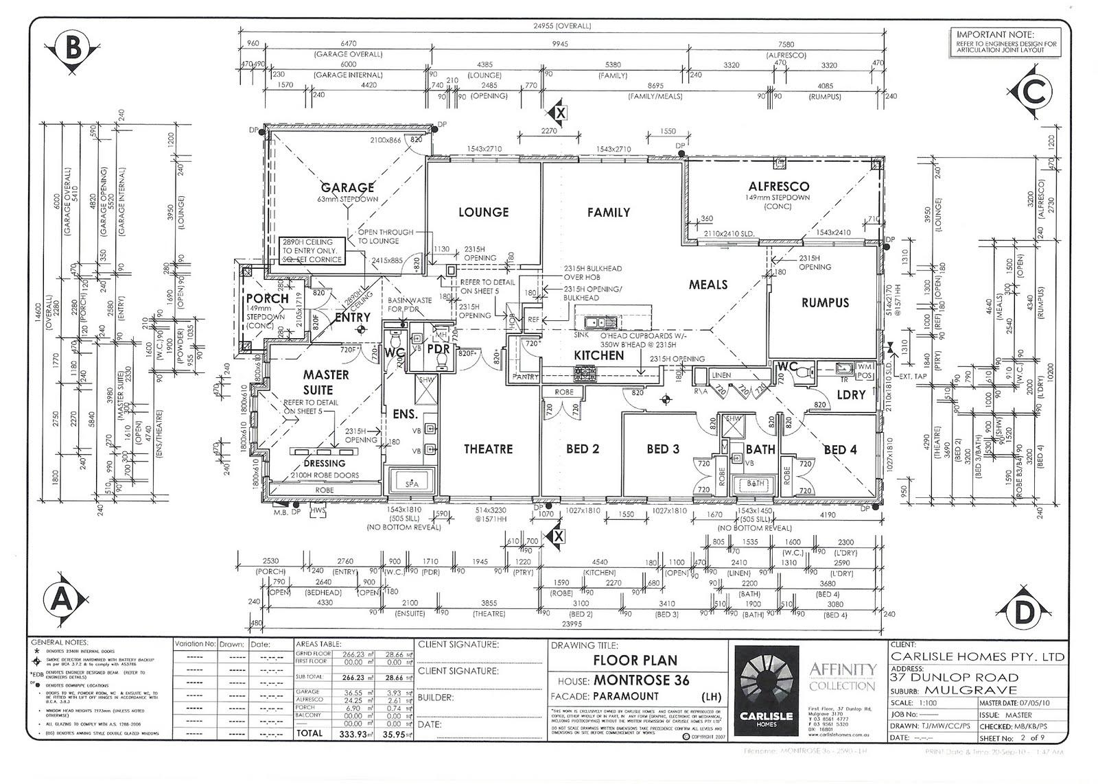 Point Cook Amp Beyond Carlisle S Montrose 36 Floor Plan