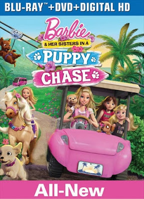 Barbie And Her Sisters In A Puppy Chase 2016 BRRip 700Mb Dual Audio 720p