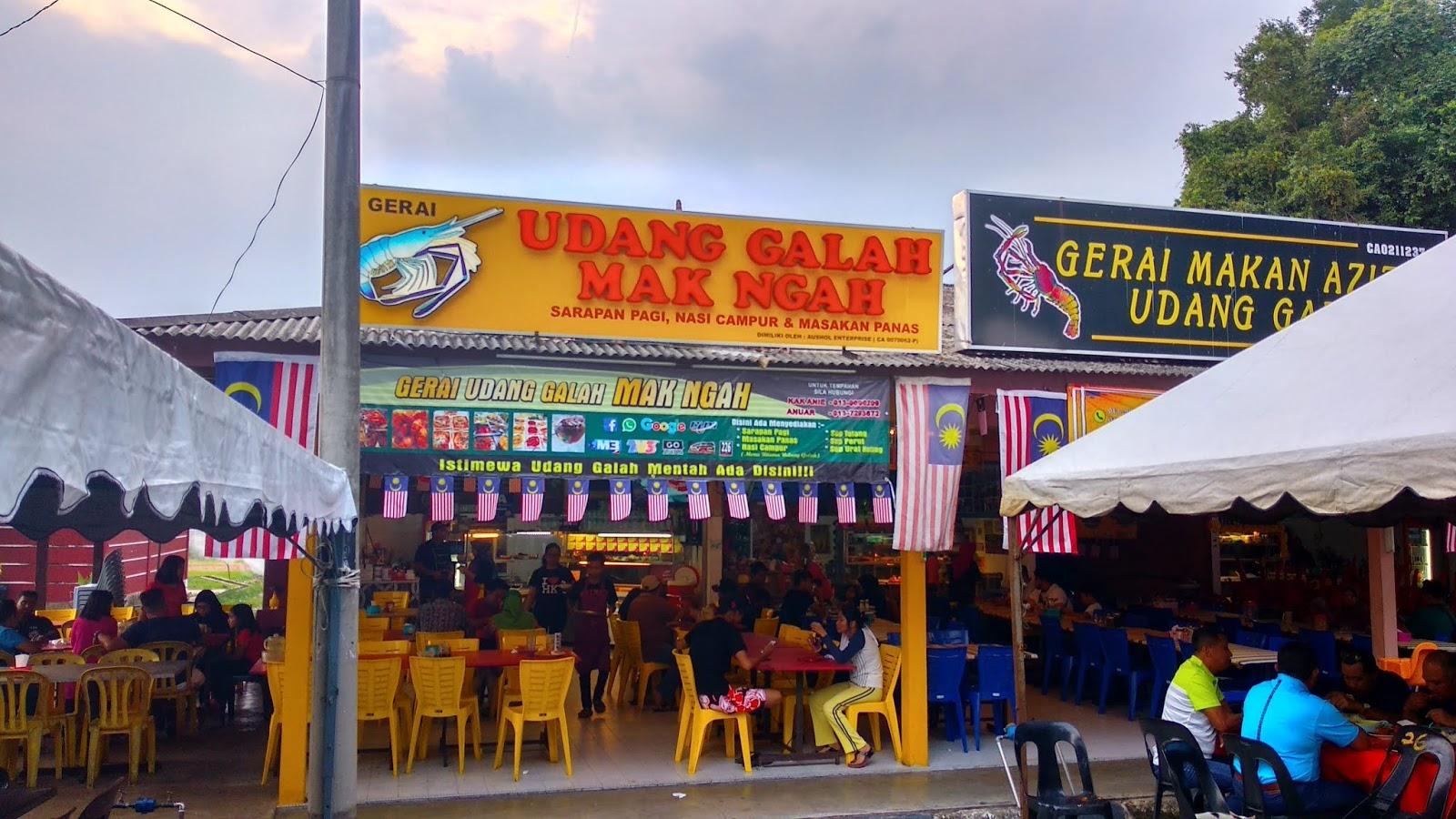 Image result for restoran udang galah mak ngah