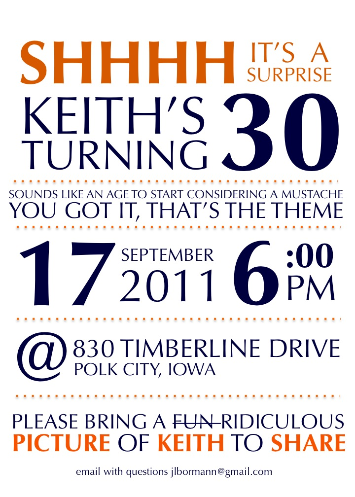 Keiths BIG SURPRISE 30th Party Surprise Birthday Ideas