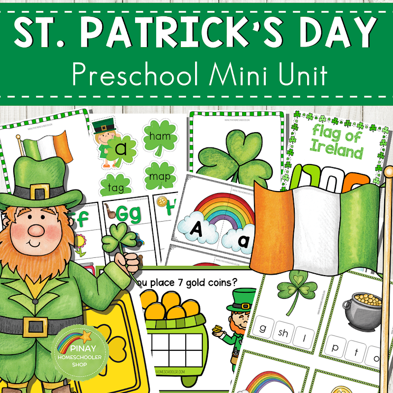St. Patrick's Day Preschool Mini Unit