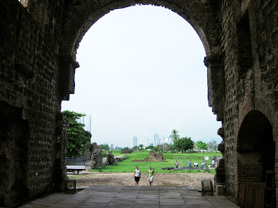 Panamá Viejo, Panamá, round the world, La vuelta al mundo de Asun y Ricardo, mundoporlibre.com