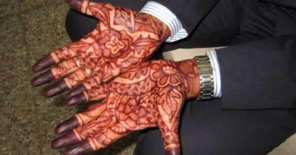 Mehndi Patterns For Men : These pics prove that mehndi for males is the latest fashion