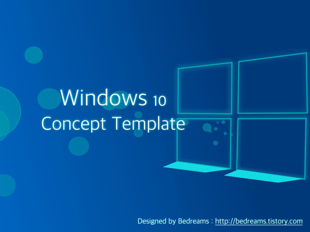 Free Template Design Free Windows 10 Design Template