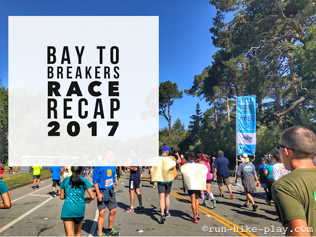Bay to Breakers Race Recap 5/21/17