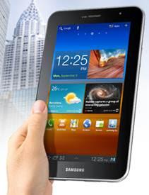 Update-Status-Via-Samsung-Galaxy-Tab