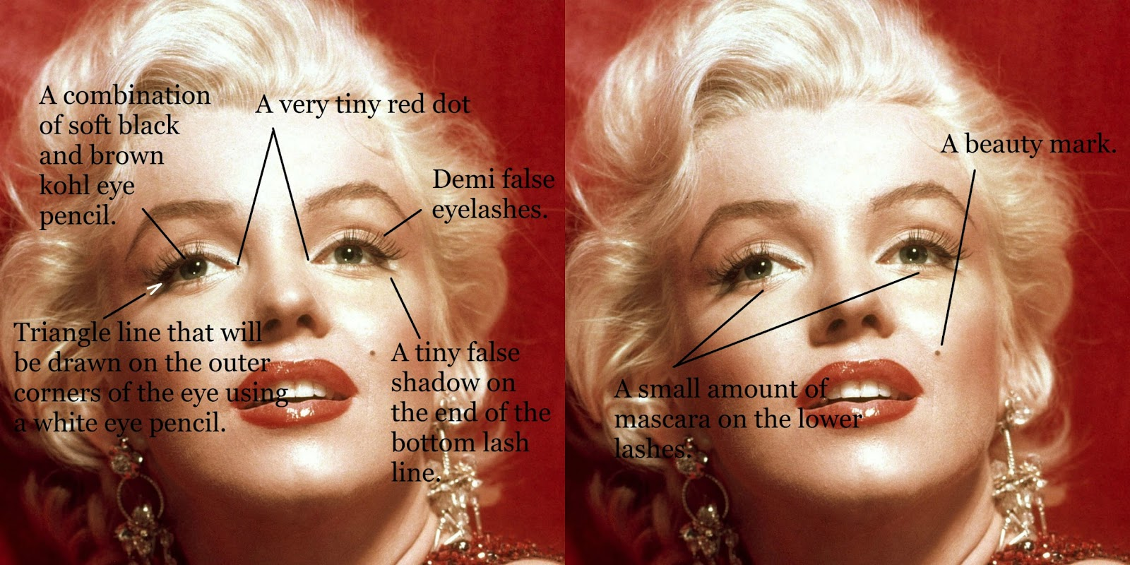 Tanya natazsha marilyn monroes makeup secrets click image to enlarge baditri Images