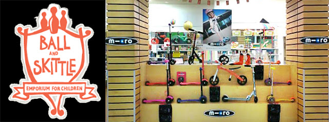 Ball and Skittle Emporium Micro Scooter super stockist