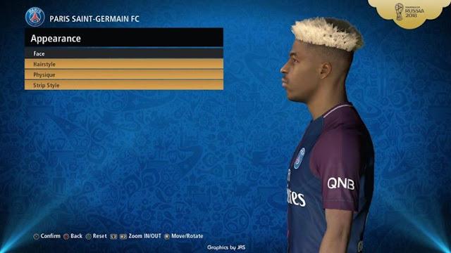 Presnel Kimpembe Face PES 2017