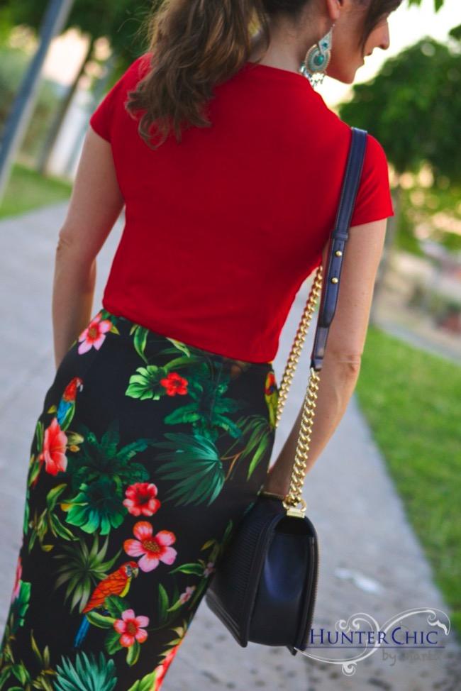 hunter chic by marta-marta halcon de villavicencio-pinko-como llevar falda tubo-blog de moda-influencer