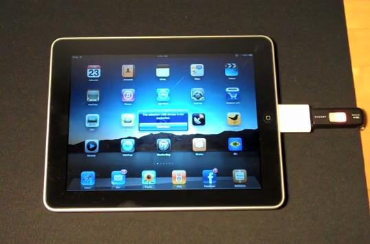 Raccorder le clavier à l'iPad 2