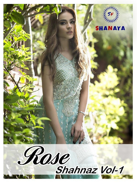 Shanaya Rose Shahnaz vol 1 pakistani Suits wholesaler