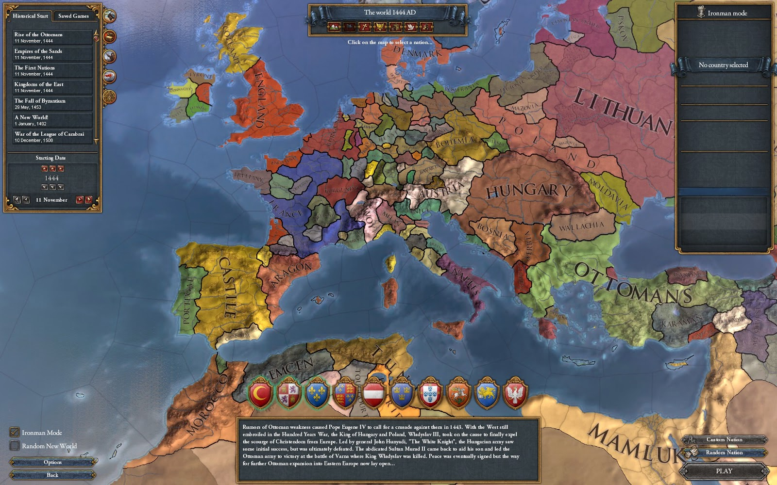 Daniel's Musings: Playing with History: A Review of Europa