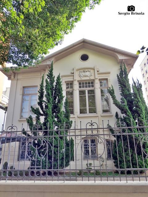 Vista ampla da Antiga Residência do Coronel Juliano Martins de Almeida - Campos Elíseos - São Paulo