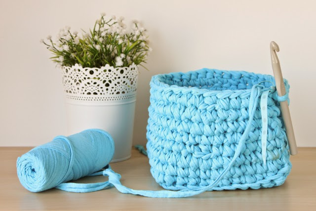 los mejores tutoriales de cestas de trapillo para