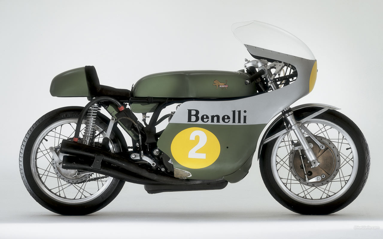 Vintage Benelli Motorcycle 7