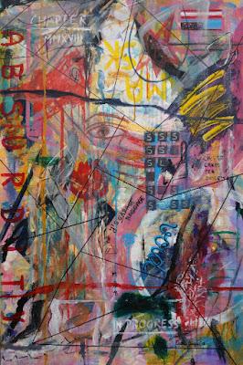 002-Oana-Singa-Mask-Void-Absurdity-ChapterMMXVIII-in-Progress-2018-acrylic-on-canvas-36X24in-91X61cm